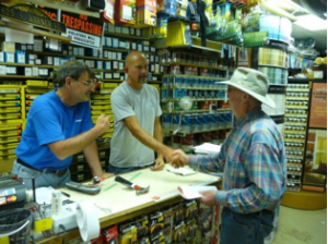 Hardware Store unsecured lines of credit